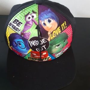 Disney Inside Out spinner hat cap one size black